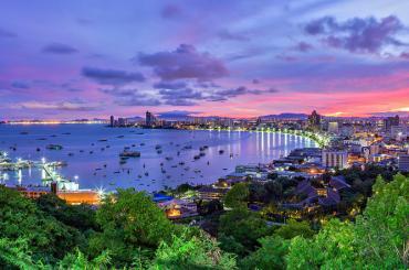 Bangkok - Pattaya - Singapur