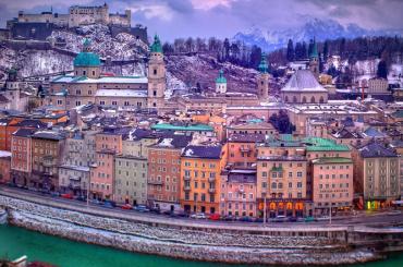 Salzburg - Viyana