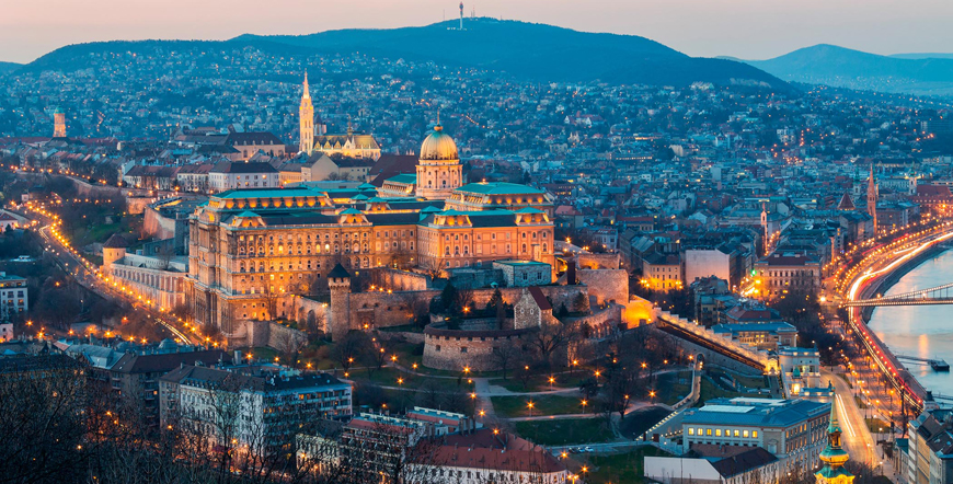 Prag - Viyana - Budapeşte
