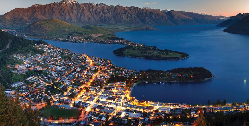 Sıradışı Kıtalar İşbirliği İle Singapur & Yeni Zelanda & Avustralya