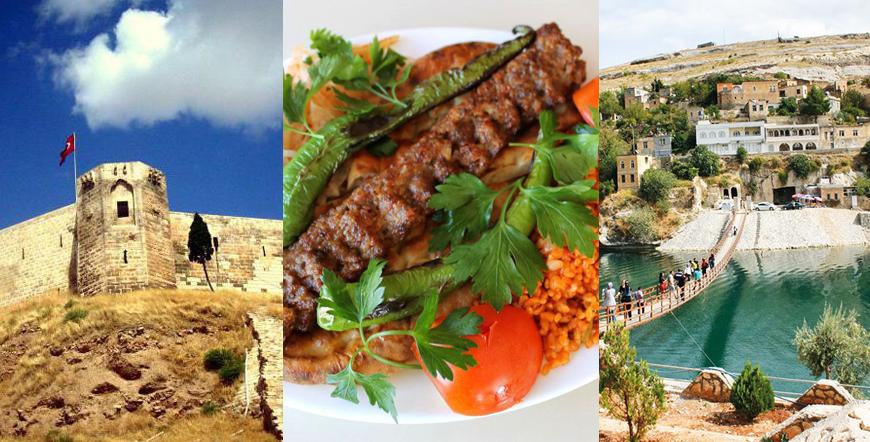 Adana - Gaziantep - Şanlıurfa